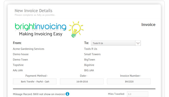 home bright invoicing online invoicing made easy